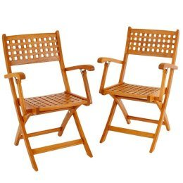 Grated Folding Chair (600312)
