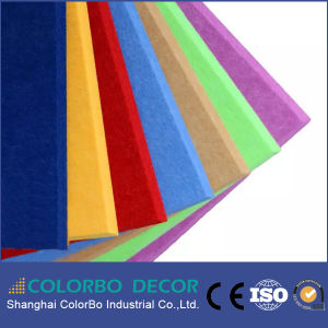 Eco Friendly Soundproof Polyester Fiber Acoustic Panels pictures & photos