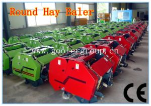 Pto Small Round Hay Baler, Automatic Grass Baler, CE Approval pictures & photos