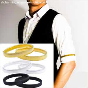 Metal Sleeve Holder Arm Bands&Box Shirt Armband