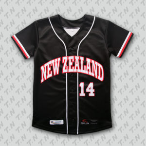 Wholesale Custom Your Own Design Full Dye Sublimation Printing Korean Baseball Jerseys