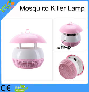 Solar LED Pink Mosquito Killer Lamp pictures & photos