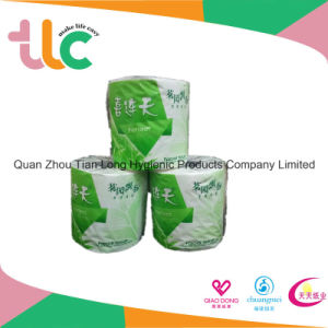 Soft Facial Toilet Tissue Paper Roll Tissue Paper Manufacture in China