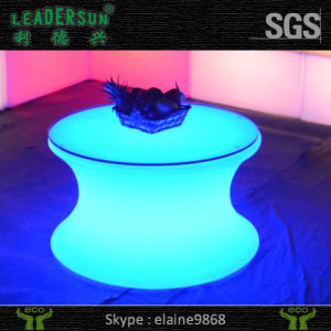 china color changing waterproof plastic led tea table led light