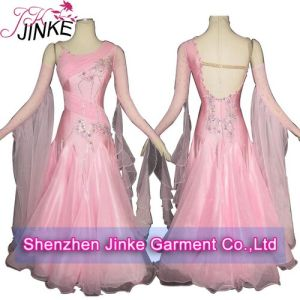 China Newest Pink Standard Ballroom Dresses - China Ballroom Dresses ... ecdd4d449