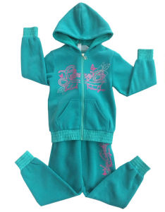 Leisure Fashion Track Suit Sweatshirt Hoodies in Children Clothes Swg-126