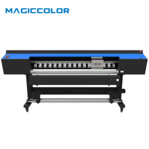 1.9m Large Format Digital Flex Printing Machine with 2PCS XP600 Printhead