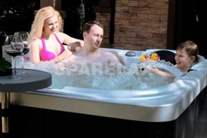 Noble 3 Seats Family Hot Tub (S502) pictures & photos