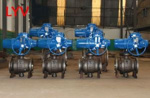 Pneumatic/Lever Wafer Flanged Stainless Steel Ball Valve