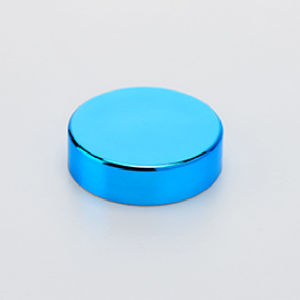 63mm Blue Chrome Plastic Cap pictures & photos