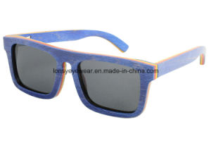 Wood Sunglasses in Stock (LS2001-C3)