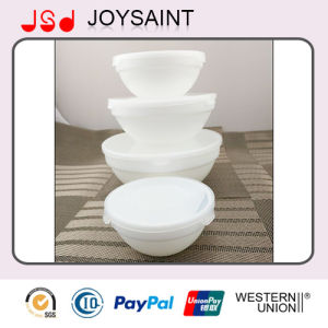 Wholesale White Exquisite Table Use Glassware Glass Soup Bowl