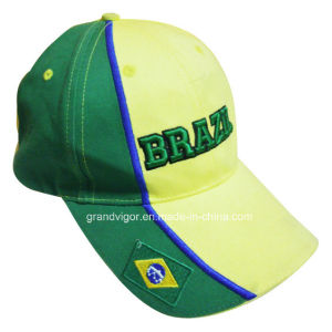 OEM Cotton Sport Cap for Soccer Club pictures & photos