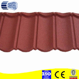 Aluminium zinc steel stone coated roofing tile for Nigeria pictures & photos