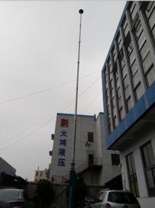 6-18m Telescopic Mast with Tripod Hand Push-up Antenna Mast Crank up Mast  Antenna Pole