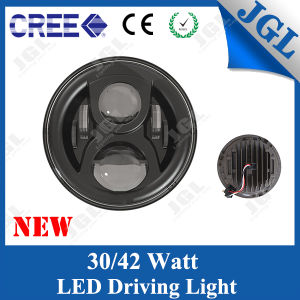 CREE LED Headlight with on-Road Approved for Jeep Wrangler