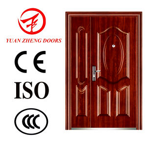 Security Double Steel Door for Apartment pictures & photos