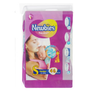 Disposable Diaper with Core Structure (S)