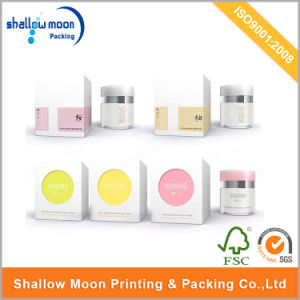 Customized Magnet Closure Paper Face/Hand Cream Cosmetic Packaging (QYCI15118)