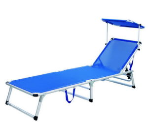 Comfortable And Portable Sun Lounger With Sunshade Xyb 029c