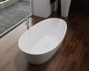 Artificial Marble Stone Simple Bathtub pictures & photos