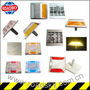 Road Safety Reflectors with Metallic Die Casting Aluminum Reflective Mark pictures & photos