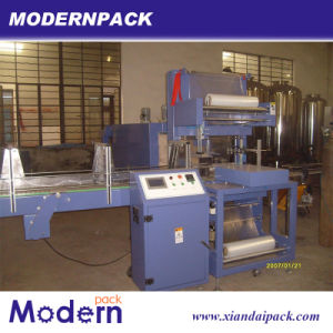 Linear Type Shrink PE Film Bottle Packaging Machine pictures & photos