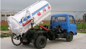Low Price HOWO King Fecal Suction Truck (10-12m3) pictures & photos