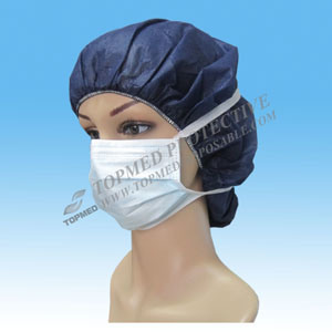 Tie-on Comfortable Nonwoven Face Masks for Adult pictures & photos