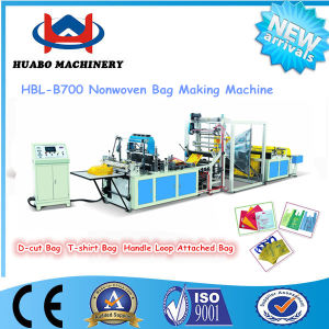 Ultrasonic Automatic Nonwoven Bag Machine pictures & photos