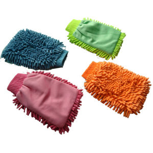Microfiber Car Washing Gloves pictures & photos