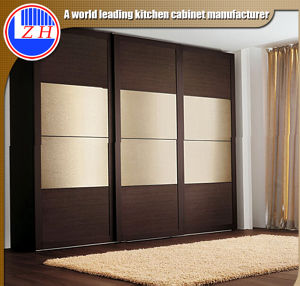 Glossy Sliding Doors for Wardrobes (zhuv) pictures & photos