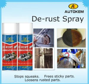 Anti Rust Lubricant (RUST PROOF LUBRICANT) , De-Rust Lubricating Spray pictures & photos