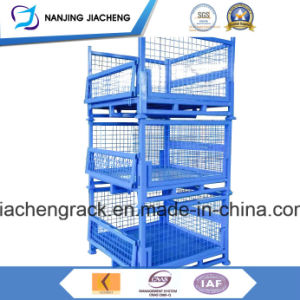 Warehouse Stackable Folding Metal Wire Mesh Pallet for Sales pictures & photos