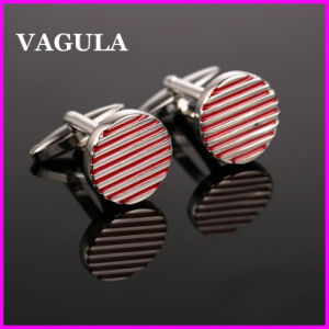 VAGULA Quality Wholesale Lines Cufflinks (HL10142) pictures & photos