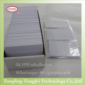 PVC Blank White Inkjet Cards pictures & photos