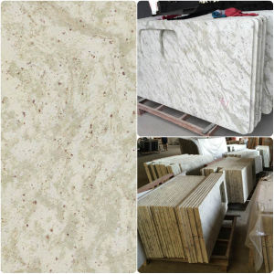 China Andrameda Kashmir White Granite Countertops Vaniy Top China