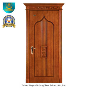 Simplified European Style Solid Wood Door for Interior (ds-050) pictures & photos