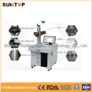 Copper Laser Marking Machine/Laser Marking Machine for Logo Engraving on Copper pictures & photos