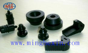 Black Rubber Profile with ISO SGS