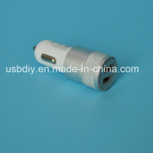 2.1A Metal Double USB Car Charger