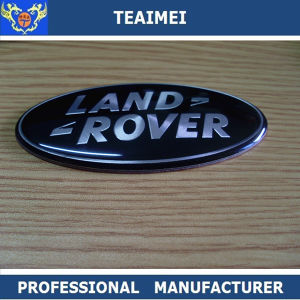 Land Rover ABS Plastic Chrome Body Sticker Car Emblem Badge