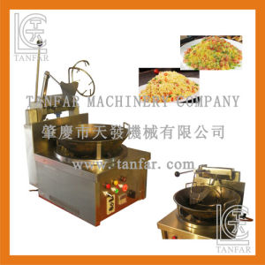 Automatic Bowl-Rotating Gas Rice Frier Cooker pictures & photos
