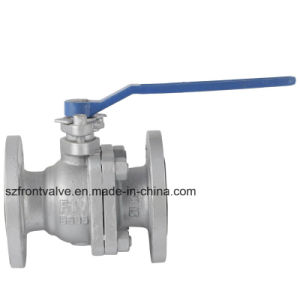 Carbon Steel Wcb Flanged End 2PC Ball Valve-Lever Op. pictures & photos