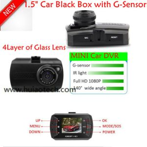 "New 1.5"" Car Camcorder HD 1080P Car DVR with Motion Dectection, 5.0mega Car Camera DVR-1503 pictures & photos"
