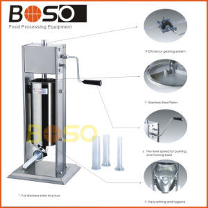 Stainless Steel Vertical Automatic Sausage Stuffer (BOS-12L)