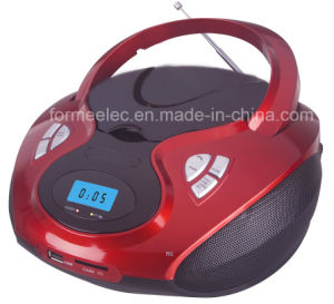 Portable CD MP3 Player Boombox with USB SD Radio pictures & photos