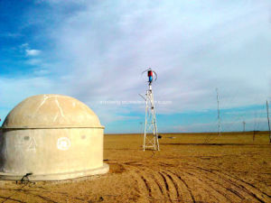 High Efficient 3kw Vertical Axis Wind Power Turbine off-Grid System pictures & photos