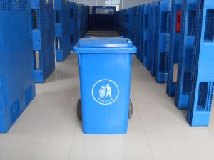 Taizhou 360L Plastic Waste Bin/Trash Can pictures & photos