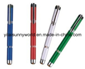 Aluminum-Alloy  Penlight with Yellow Light (SW-PL44) pictures & photos